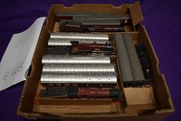 Three Hornby 00 gauge LMS 4-6-0 Loco's & Tenders, Royal Scot 6100, Duke of Sutherland 5541 and