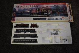 A Hornby 00 gauge electric train set, The Royal Train, comprising 4-6-2 Loco & Tender Princess
