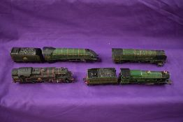 Five Horny Dublo 00 gauge 4-6-2 Loco's & Tenders, Silver King, Golden Eagle, Duchess of Atholl,