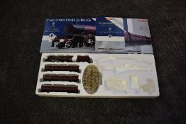 A Hornby 00 gauge limited edition train pack, The Diamond Jubilee, comprising 4-6-2 Loco & Tender