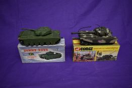 A Dinky diecast, Centurion Tank, boxed 651 and a Corgi diecast, Centurion Mk III Tank, boxed 901