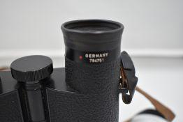 A pair of Leica Trinovid 10 x 40 binoculars. Serial No 784751 in original case