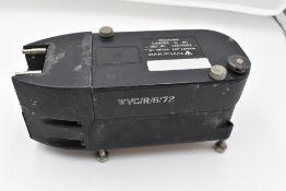 An R Vinten ltd G90 Sighting Camera in original military box (no lens) and G90 Sighting unit