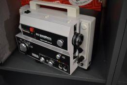 A Eumic 882 Sonomatic 8mm projector in original box