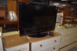 An LG Full HD TV, 37 inch screen