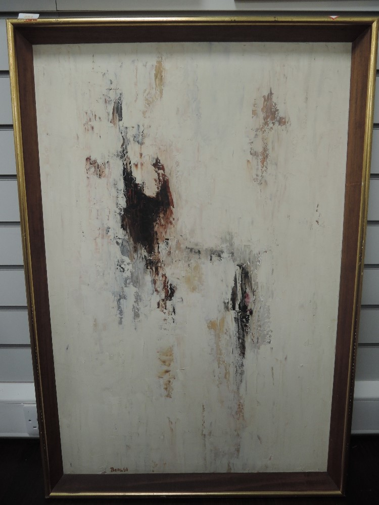 An oil painting on board, Beal, impressionist, signed and dated (19)66, 90 x 60cm, framed