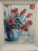 An oil painting, Mary Armour, still life, signed, 44 x 34cm, framed