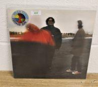 A copy of Yo La Tengo's ' Summer Sun ' album , rare vinyl issue of this American Underground classic