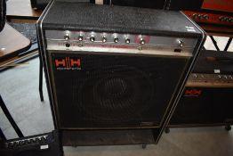 A 1970s HH Valve Sound Musician bass combo amplifier