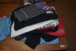 A selection of various music recording and band t shirts approx 13 in total