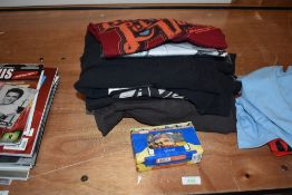 A selection of The Beatles and John Lennon T Shirts and jumper approx ten items mostly larger sizes