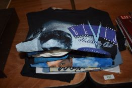 A selection of Elvis Presley rock n roll t shirts mostly larger sizes approx ten in total
