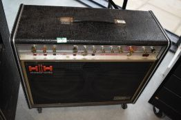 A 1970s HH Valve Sound musician combo amplifier (with reverb)