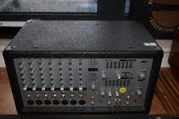 A Phonic 740 Powerpod Plus 220w + 220w 7 channel powered mixer