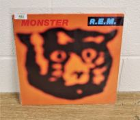 A vinyl copy of REM's ' Monster ' in vg+ / ex - not easy to find on vinyl