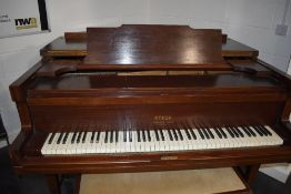 A vintage Steck Grand Piano (converted from pianola , the workings having been removed) in