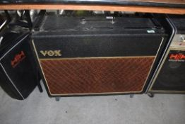 A vintage 'copper top' Vox AC30, serial number 15084, probably 1963/1964