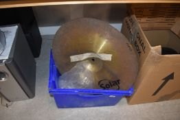 A selection of Drum Kit spares including Ludwig and Solar splash cymbal