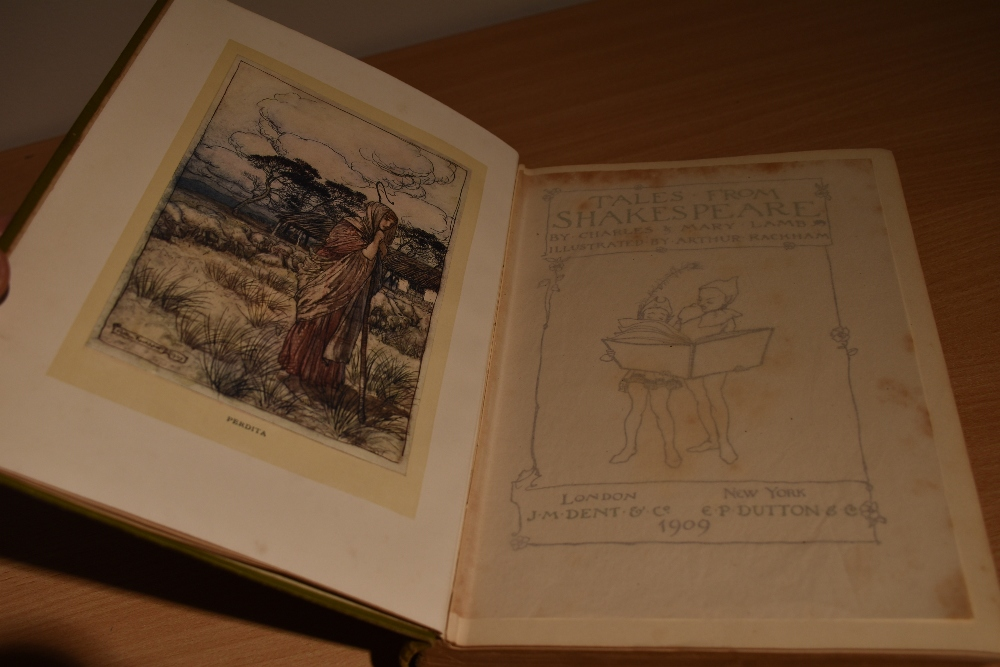 Children's and Illustrated. Lamb, C. & M. - Tales from Shakespeare. London: J. M. Dent, 1909. - Image 3 of 5