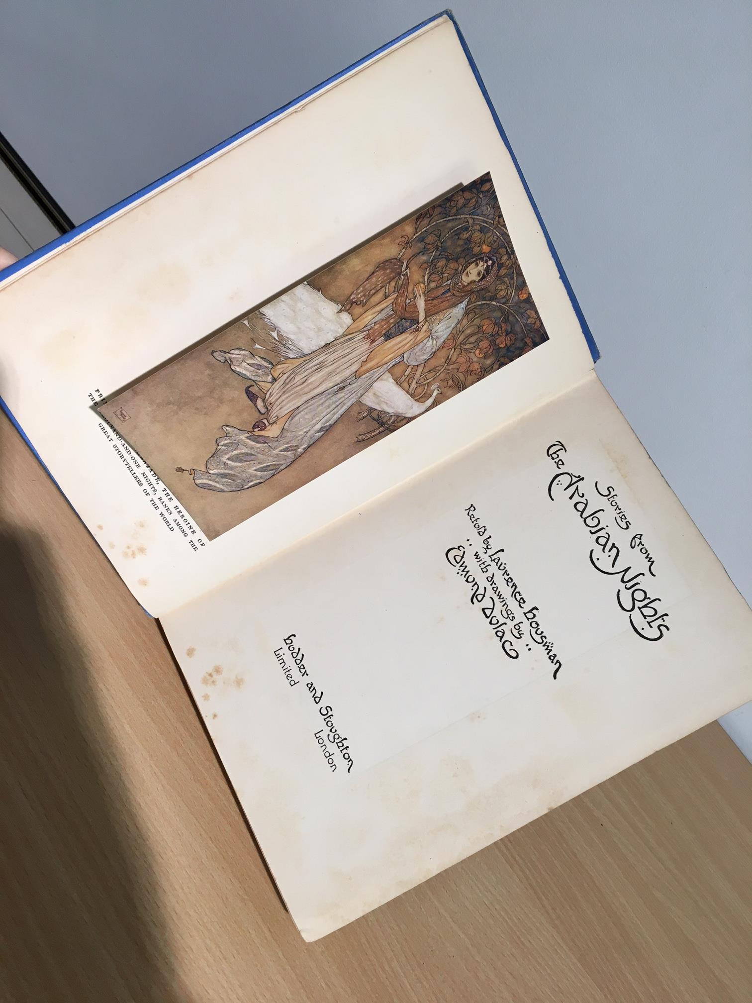 Children's. A selection, includes; Arabian Nights illustrated by Edmund Dulac; The Water-Babies - Image 2 of 8