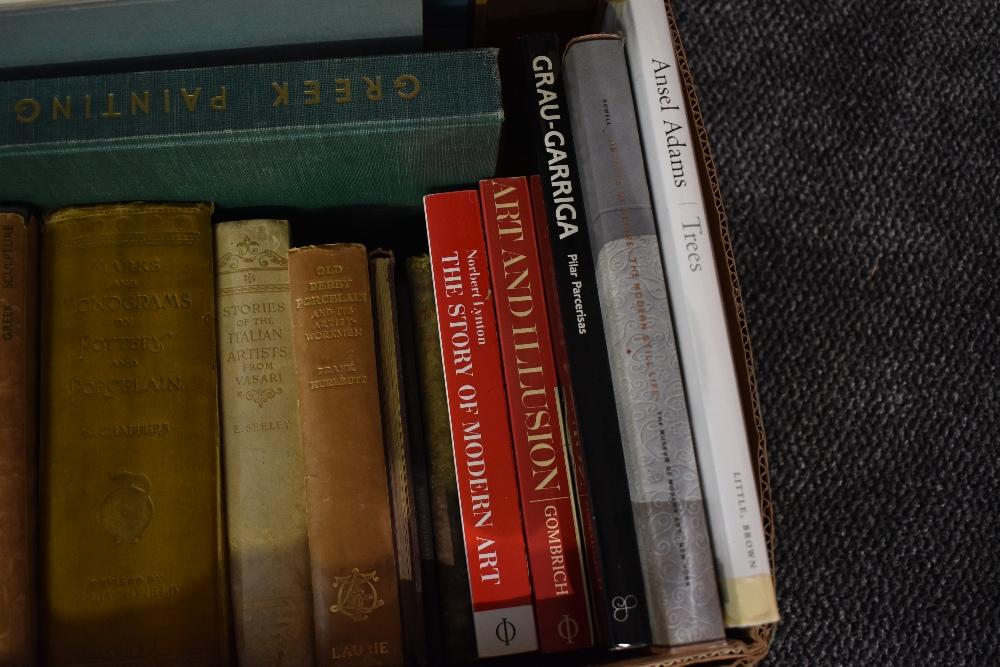 Art and related. A carton. Includes; Paul Nash; Ansel Adams; Mario Arlati; etc. (22) - Image 3 of 3