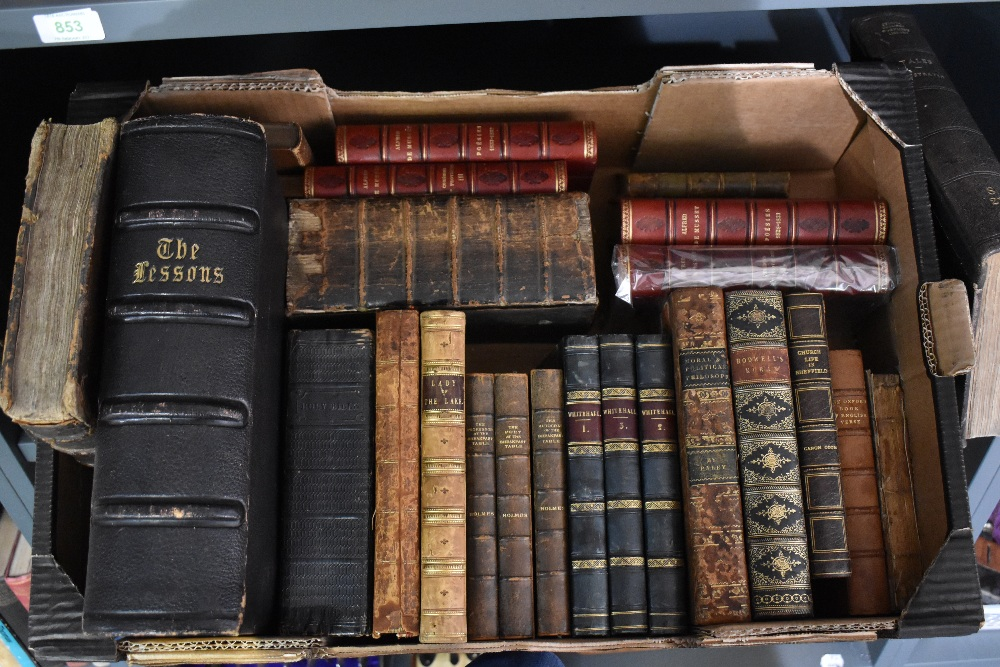 Antiquarian miscellany. A carton, includes; A Paraphrase and Notes on the Epistles of St. Paul.