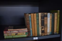 Romany of the BBC - George Bramwell Evens. A selection, some in dust wrappers, condition mixed. (