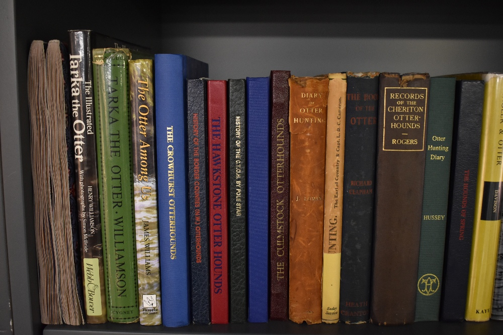 Otter Hunting and related. A large selection, condition mixed. Includes specific Hunt records, - Image 2 of 8