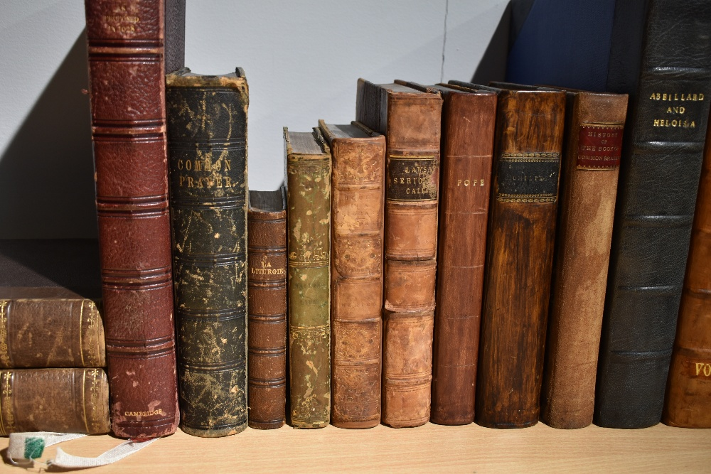 Antiquarian miscellany. Includes; Berington, Rev. Joseph - The History of the Lives of Abeillard and - Image 2 of 2