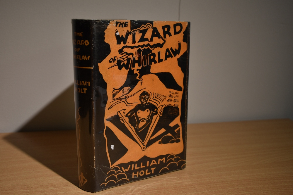 Inscribed copy. Holt, William - The Wizard of Whirlaw. Published by the author, 1959, 2nd