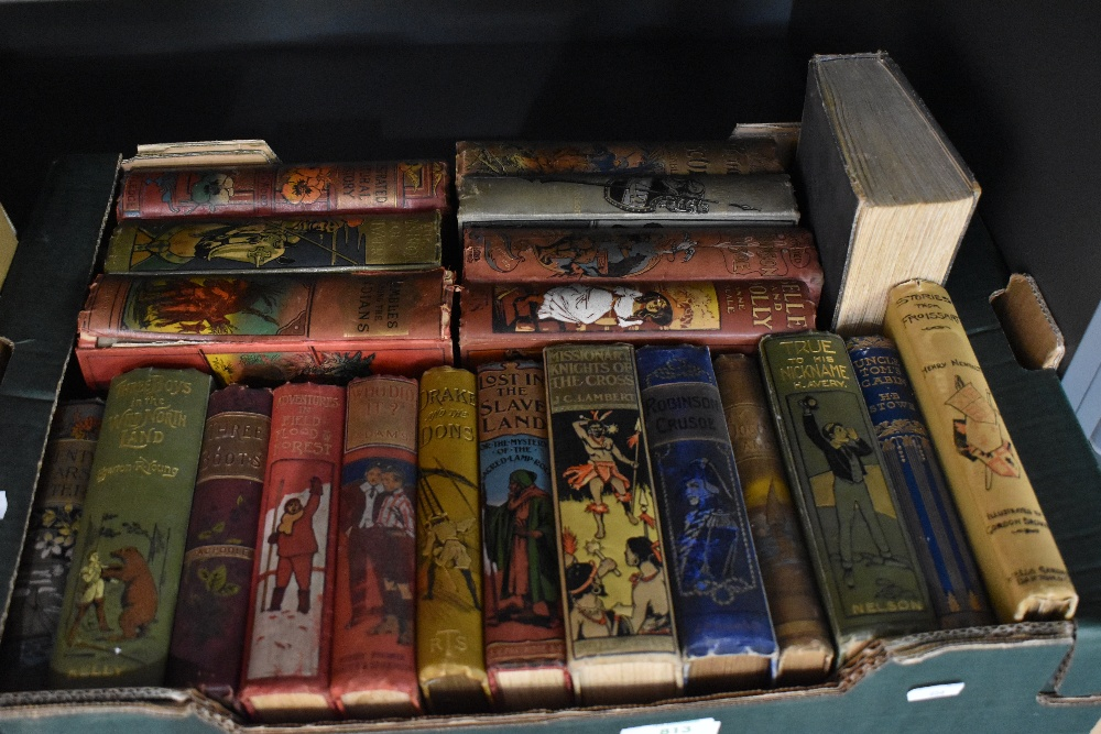 Decorative cloth bindings. A large selection, late 19th and early 20th century, mainly children's - Image 2 of 2