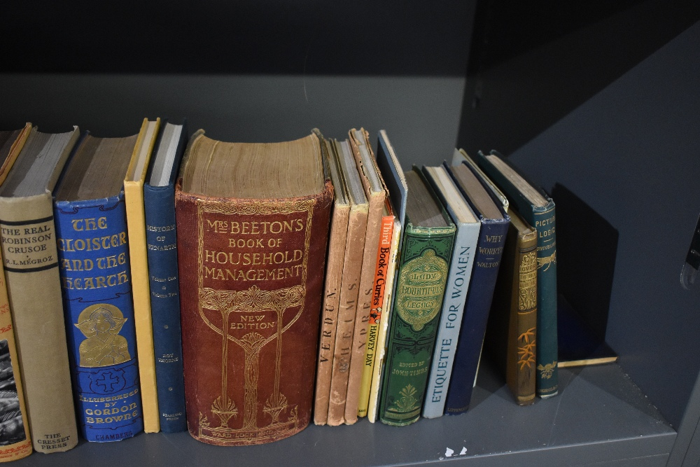 Miscellaneous. A shelf, includes; Bonney - Cathedrals, Abbeys and Churches of England and Wales, 2 - Image 3 of 6