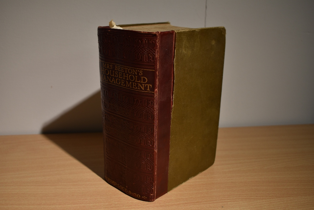 Cookery and related. Mrs. Beeton's Household Management A Complete Cookery Book. London: Ward,