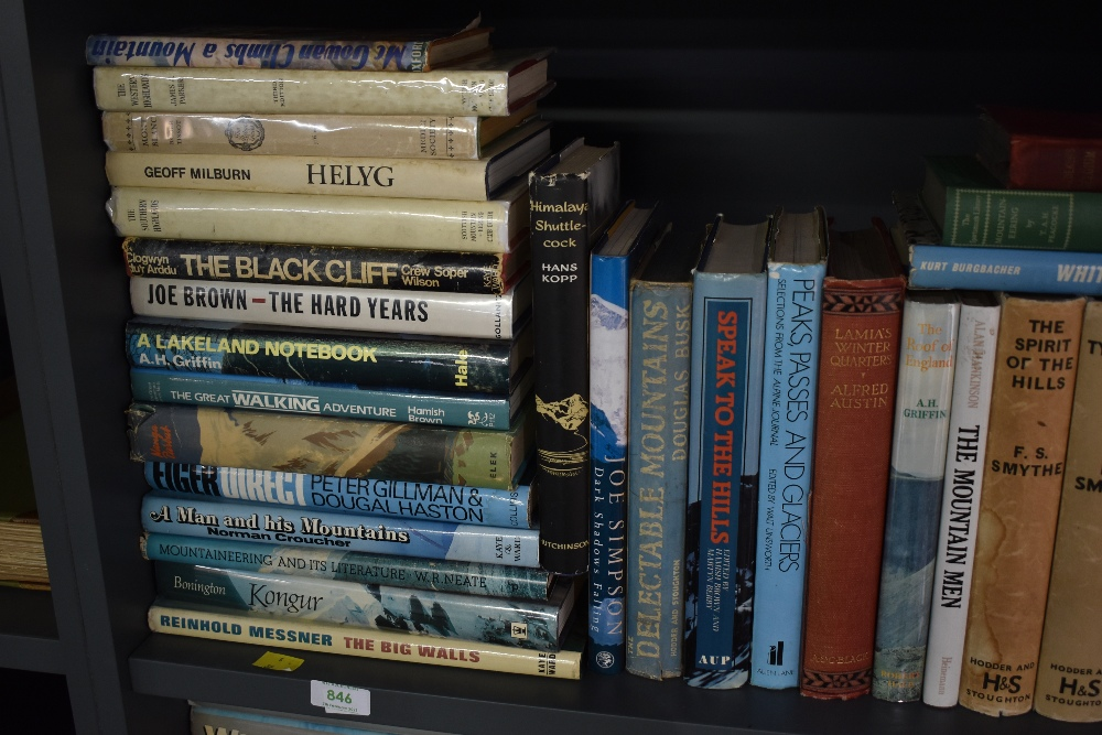 Mountaineering and related. A large selection, includes works by; Ken Wilson, F. S. Smythe; etc. ( - Image 3 of 3