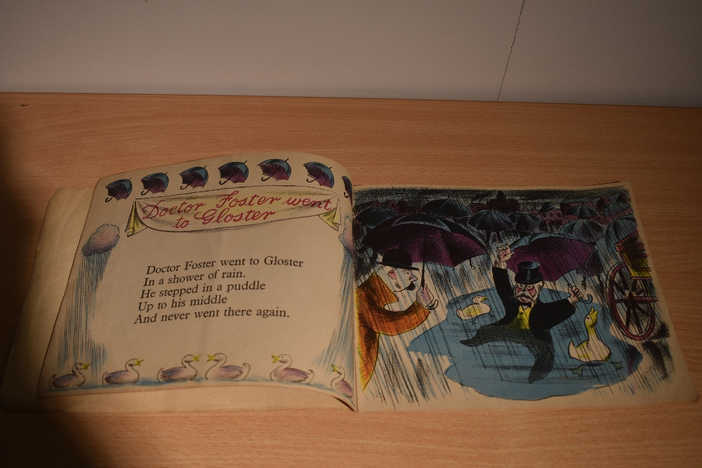 Children's. A Harlequin Picture Book. 15 Nursery Rhymes with drawings by Clarke Hutton. London: - Image 3 of 3