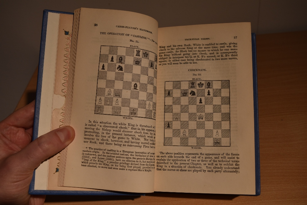 Chess. Staunton, Howard - The Chess-Player's Handbook. London: 1848. 2nd edtion, revised. Re-bound - Image 3 of 3
