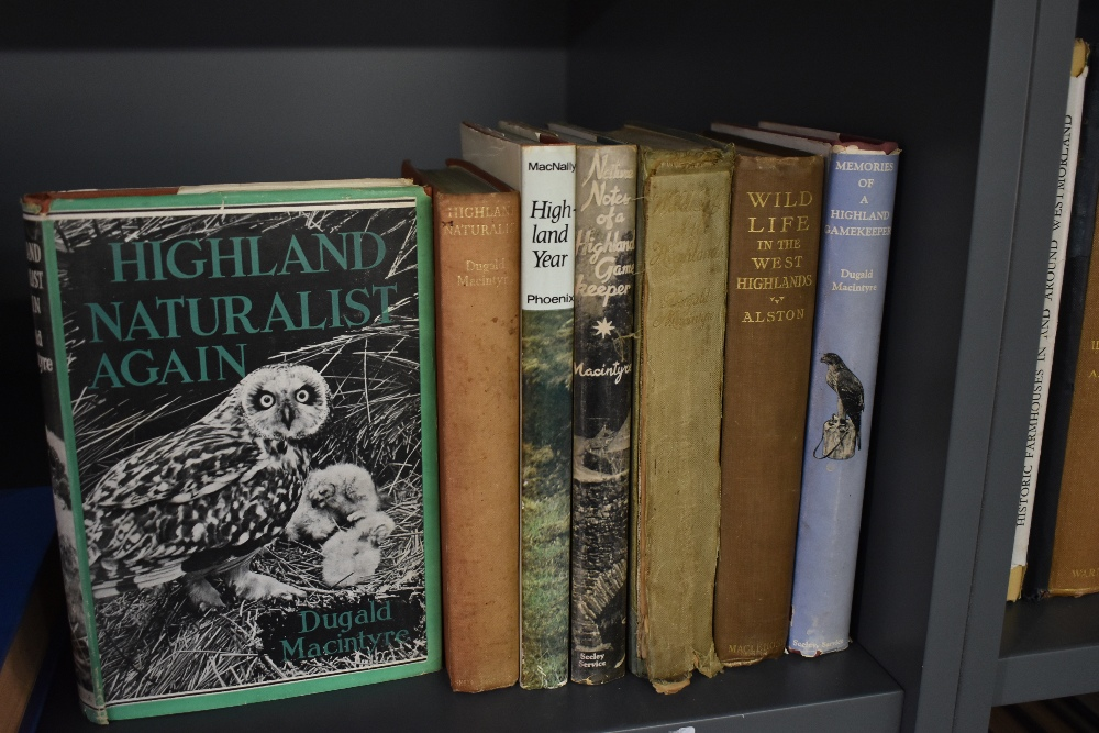 Sporting. Scottish Highlands interest. A small selection, mainly works by Dugald Macintyre. (7)