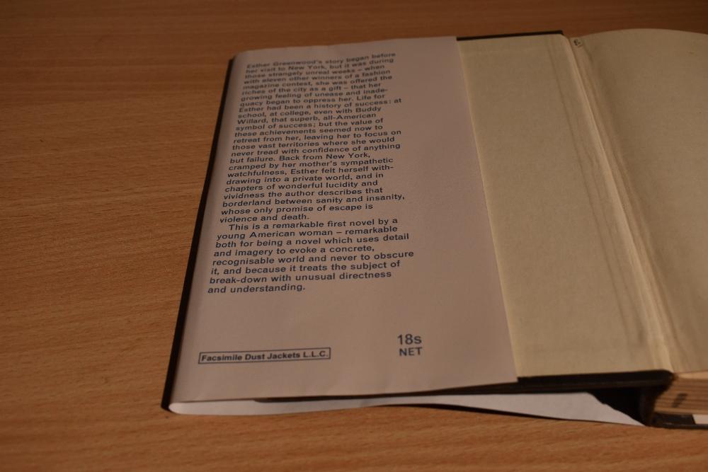 Scarce First Edition. Lucas, Victoria [Plath, Sylvia] – The Bell Jar. London: William Heinemann Ltd. - Image 3 of 7