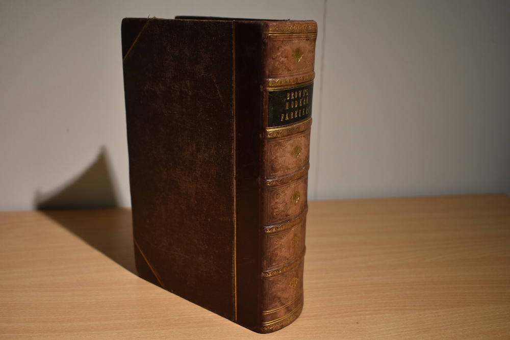 Natural History/Veterinary Science. Brown, Thomas - A Manual of Modern Farriery; &c. London: - Image 2 of 4