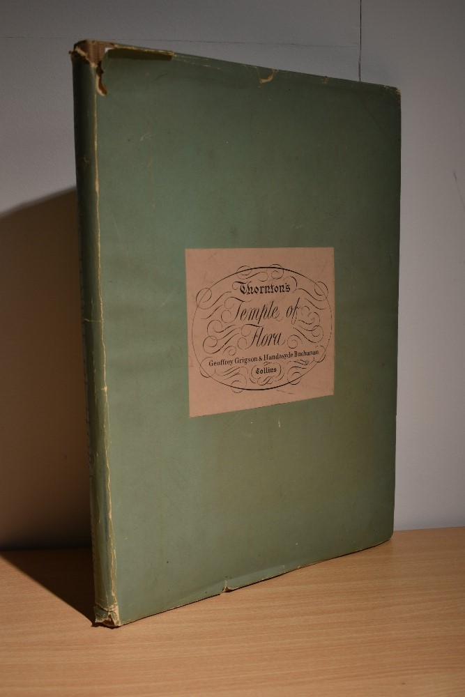 Botany. Thornton's Temple of the Flora. London: Collins, 1951. Publisher's binding, in worn dust