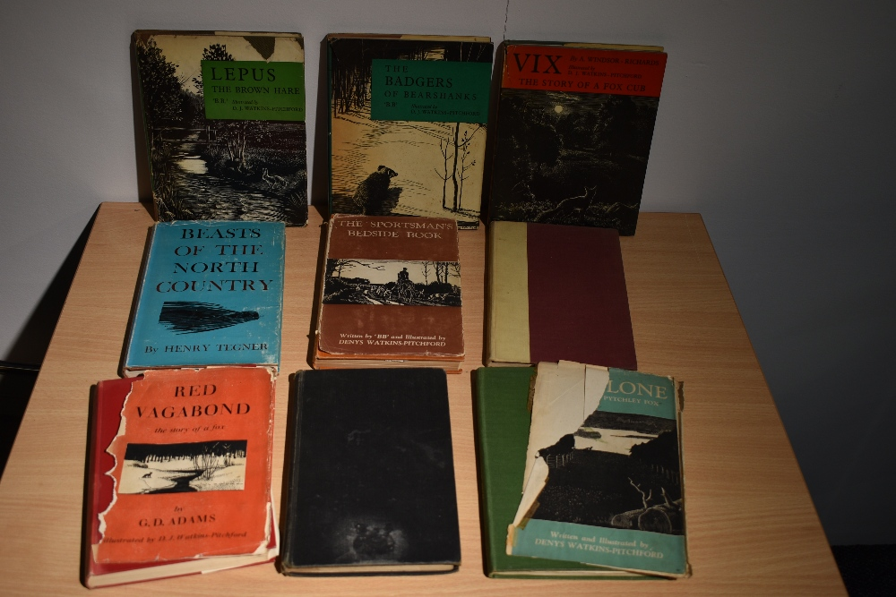 Illustrated. 'BB' - Denys Watkins-Pitchford. A selection, first editions and early impressions, some - Image 2 of 2