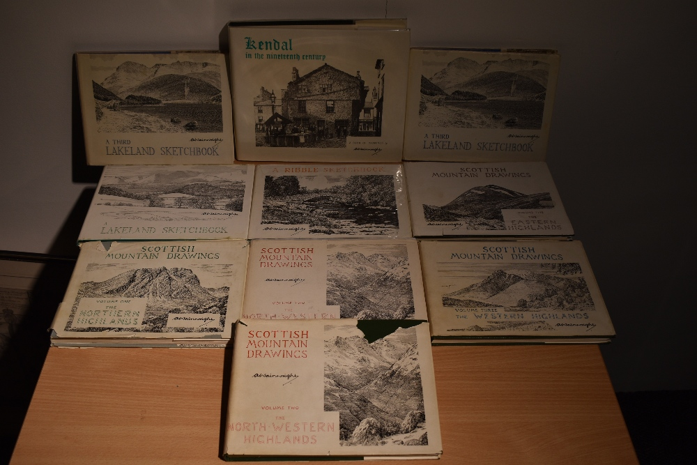 Wainwright. Sketchbook selection. Includes; Highlands; Lakeland; and Kendal in the Nineteenth