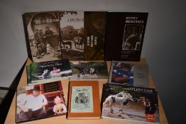 Appleby Horse Fair and related. Majority softback pictorial histories, and Brian Vesey-