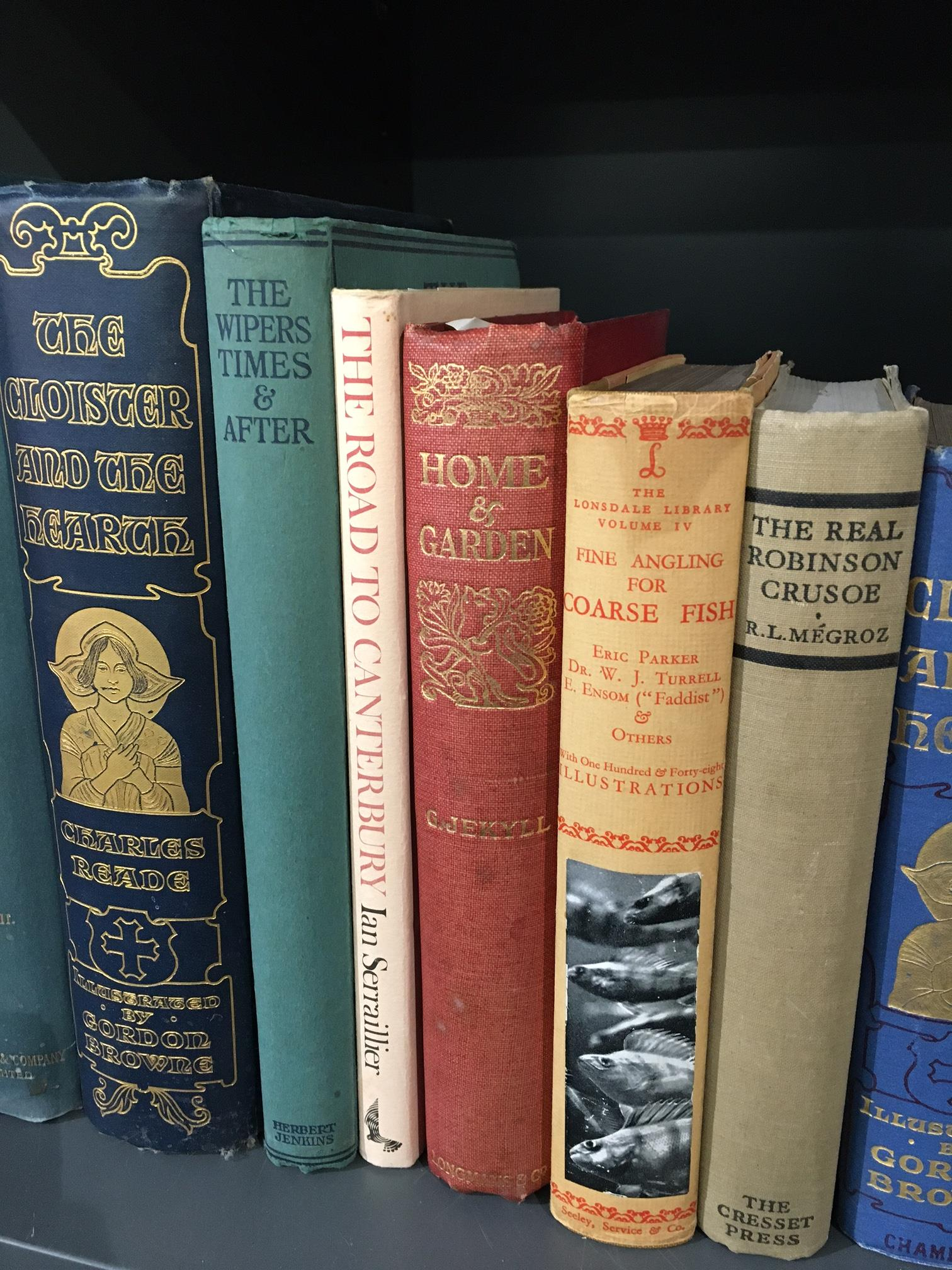 Miscellaneous. A shelf, includes; Bonney - Cathedrals, Abbeys and Churches of England and Wales, 2 - Image 6 of 6