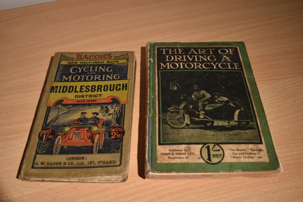 Motoring. The Art of Driving a Motorcycle: A complete guide to the management of solo machines and