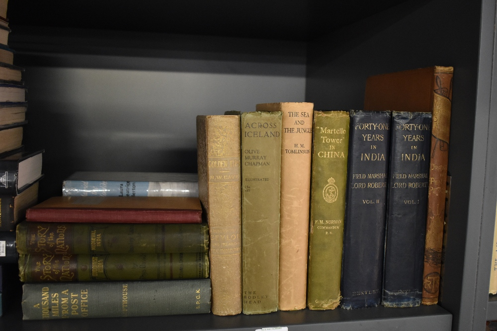Travel and related. A selection, includes; Tomlinson, H. M. - The Sea & The Jungle. London: