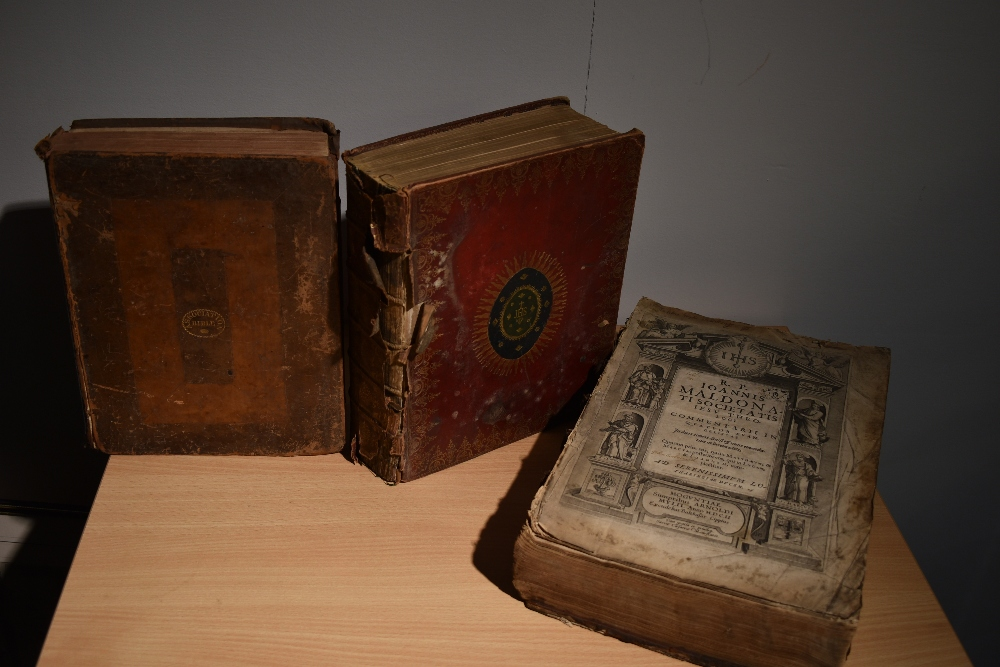 Antiquarian. Bibles and Religion. Includes; Holy Bible - Oxford: 1786. Contemporary binding, worn.