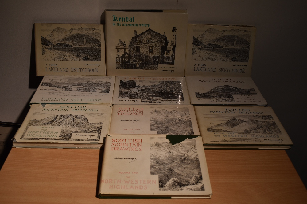 Wainwright. Sketchbook selection. Includes; Highlands; Lakeland; and Kendal in the Nineteenth - Image 2 of 3
