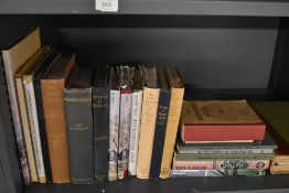 Local History and Topography. A selection, includes; Nicholson's - Annals of Kendal (1861, 2nd);
