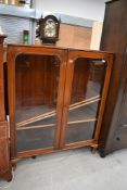 A late 19th/early 20th Century mahogany bookcase, width approx. 105cm height 130cm